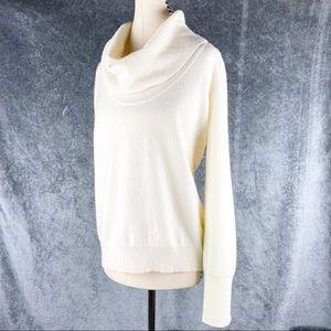 Halogen Nordstrom Cashmere Cowl-neck Sweater Cream